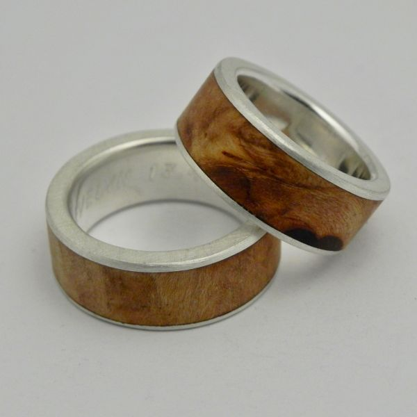 Mokume Gane Ringe Ringe Mit Holz Schmuck Mit Stein Faires Gold